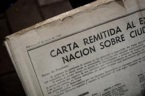 En la edición del diario La Jornada del 17 de mayo de 1978, se publicó la lista de personas desaparecidas. En ese momento eran nueve mil. En cuatro años la cifra se triplicaría y más.